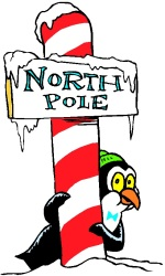 north pole christmas party theme