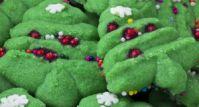 Christmas Tree Ice Cream Cookies