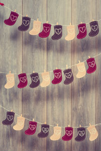 Christmas Stocking Advent Calendar