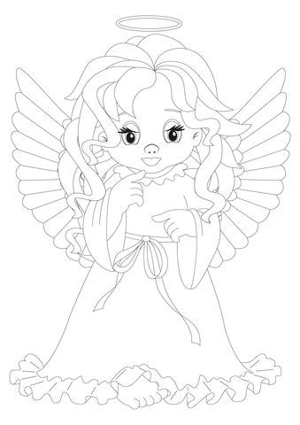 more free christmas coloring pages