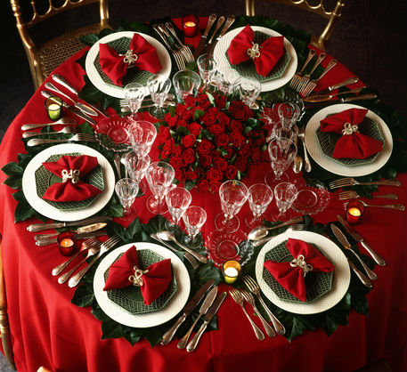 Christmas Party Table Decorations Ideas.Naughty Or Nice Christmas Party