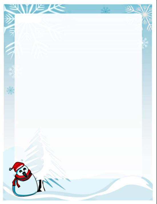 White Christmas Party Invitation