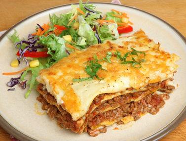 backed lasagna