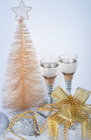 Silver and Gold Christmas Party